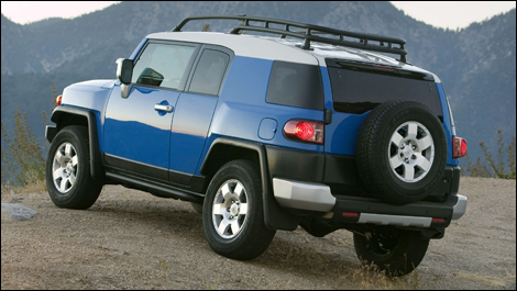 2008 toyota fj cruiser off road review. Black Bedroom Furniture Sets. Home Design Ideas