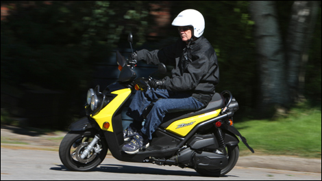 2009 Yamaha BWs 125 Review