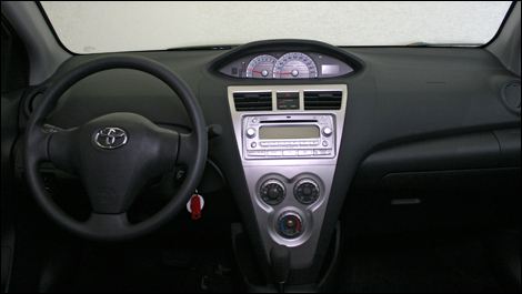 2008 toyota yaris sedan review
