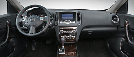 The Interior Of The New Maxima Has Also Been Seriously Remodelled.