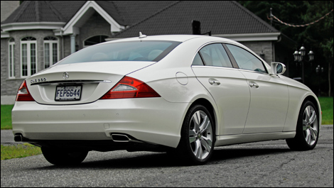2009 mercedes benz cls550 review. Black Bedroom Furniture Sets. Home Design Ideas