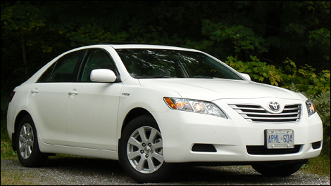 2009 Toyota Camry Hybrid Review Video
