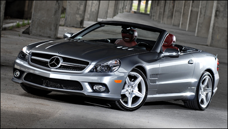 Find used 2009 Mercedes-Benz SL-Class SL550 in Beverly Hills ...