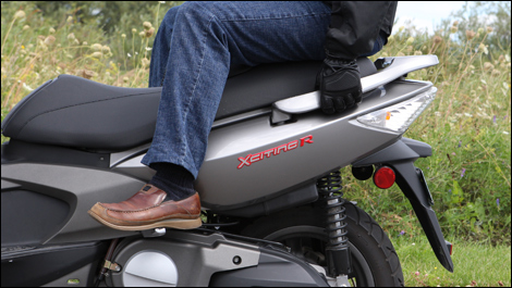 2008 kymco xciting 500 ri review