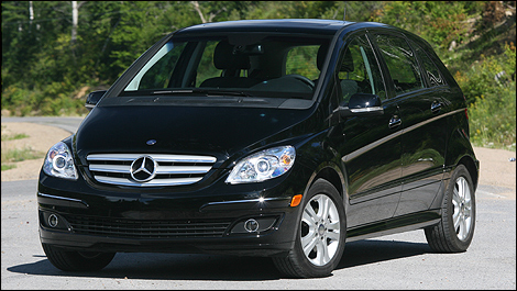 mercedes benz b200 turbo 2008 essai routier. Black Bedroom Furniture Sets. Home Design Ideas