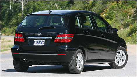 2008 Mercedes Benz B200 Turbo Review