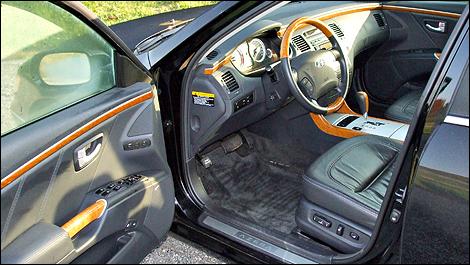 2008 hyundai azera limited review 2016 Hyundai Azera Interior