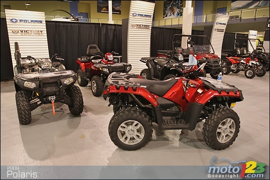 Polaris Dealers Alberta >> Photos - Polaris VTT 2009 : aperçu
