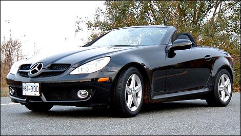 2009 mercedes benz slk300 review for Mercedes benz slk300