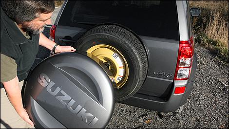 Suzuki Grand Vitara Spare Wheel Cover Lock