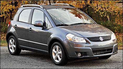 Suzuki sx4 awd review