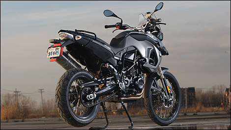 2009 Bmw F800gs Review