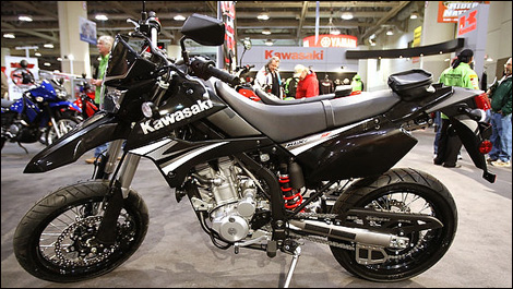 Kawasaki Motorcycles: Kawasaki KLX 250 SF High Cl Pictures