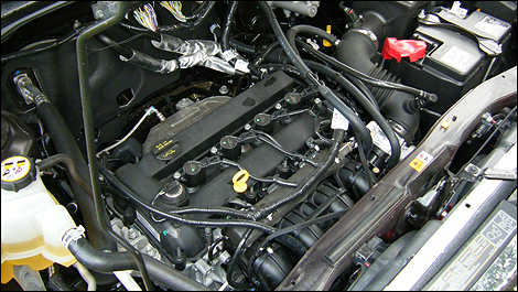 The 4 Cylinder Engine Generates 170 Horse And 171 Pound Feet Of Torque