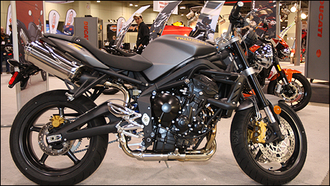 2009 Triumph Street Triple R Display