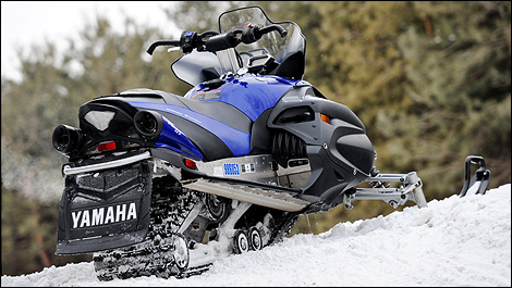 2010 yamaha rs vector gt first impressions for Yamaha snow mobiles