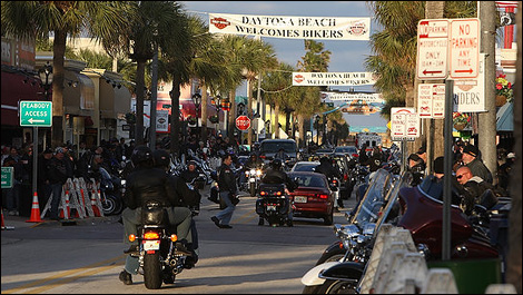 daytona bike week. Daytona Report - Tuesday