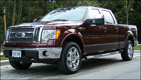 2009 ford f 150 lariat 4x4 supercrew review. Black Bedroom Furniture Sets. Home Design Ideas