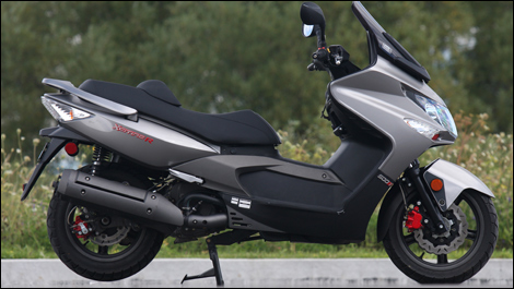 2009 kymco xciting 500 ri review. Black Bedroom Furniture Sets. Home Design Ideas