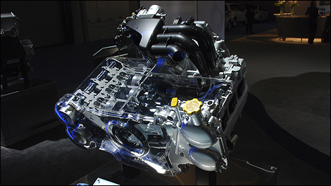 Subaru Outback I on Subaru Boxer Engine Design