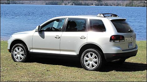 2009 Volkswagen Touareg 2 TDI V6 - YouTube