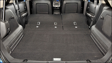 The Modular Trunk Of The Ford Edge Is Spacious And Easy To Configure