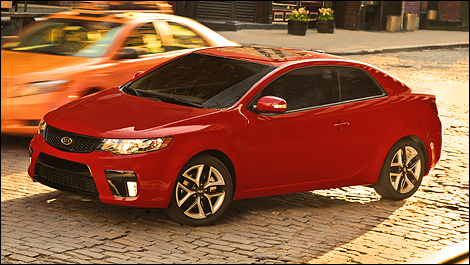 2010 Forte Koup pricing and specifications announced by Kia