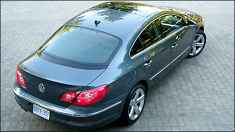 2009 Volkswagen Passat Cc 20t Tsi Highline Review