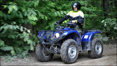 2009 Yamaha Kodiak 450 Review