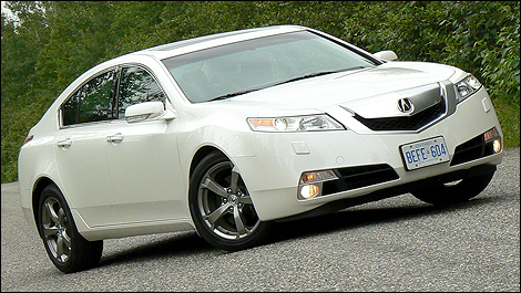 2009 acura tl sh awd tech review video. Black Bedroom Furniture Sets. Home Design Ideas