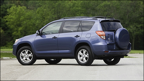 The 2010 Toyota RAV4 Is On Sale At Toyota Dealers Across Canada Today
