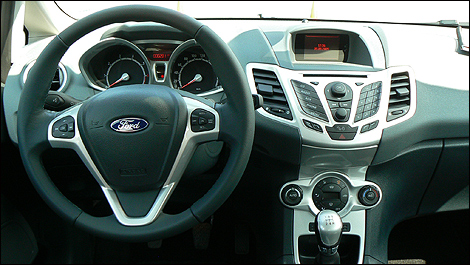 2009 ford fiesta first impressions for Go kart interieur