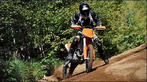 2009 KTM 250 XCF-W Review