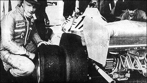 The curious 6-wheel Ferrari Formula 1 car