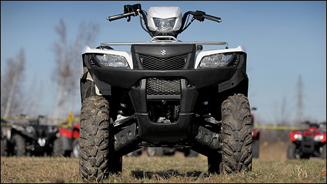 Suzuki King Quad How To Use Differential