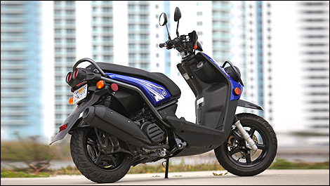 Motorcycle Informations and Accessories  Yamaha BWs 125 2010 Road Test