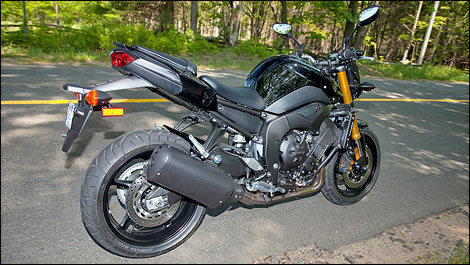 2011 Yamaha FZ8 and Fazer 8 First Impressions