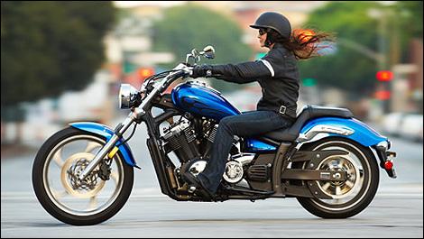 Yamaha Stryker Rear Tire