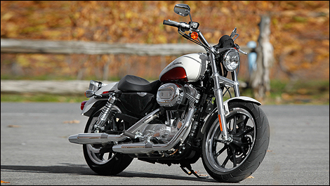 2011 harley davidson sportster 883 superlow and forty eight review. Black Bedroom Furniture Sets. Home Design Ideas