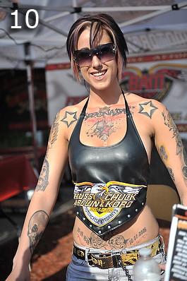 Top 10 Girls Of Daytona Bike Week
