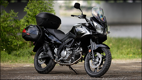 2011 Suzuki V-Strom 650A ABS review