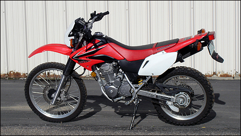 2011 Honda CRF230L Review
