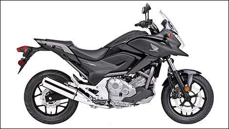 2012 Honda NC700XA right side view