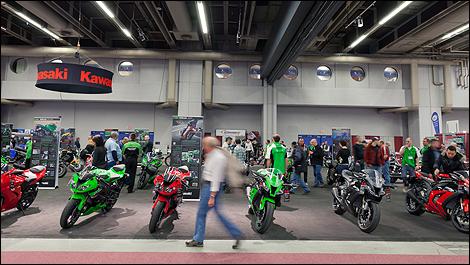 Le salon de la moto de montr al 2012 ce week end au - Salon de moto montreal ...