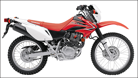 2009 Honda CRF230L right side view
