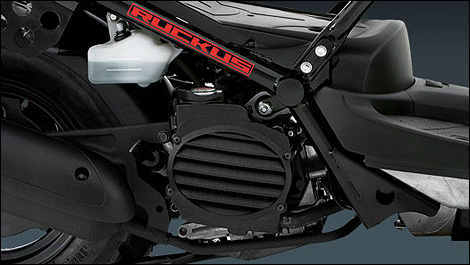 2012 Honda Ruckus engine
