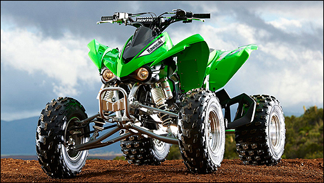 2012 Kawasaki KFX450R Preview