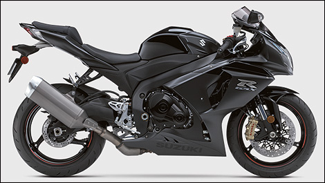 2012 Suzuki GSX-R1000 right side view