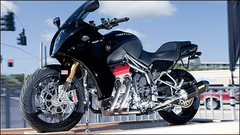 2013 Motus Motorcycles MST left side view