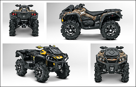 2013 Can-Am Outlander X mr